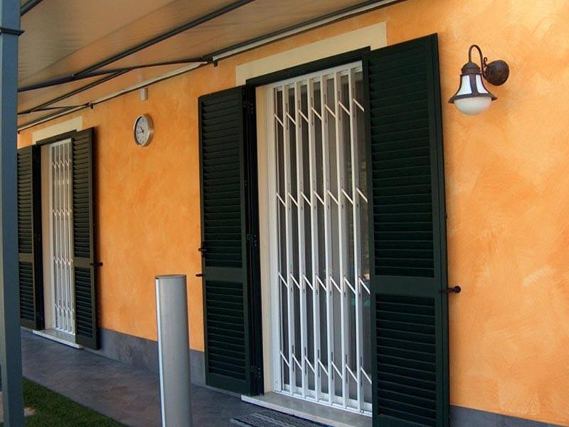 Inferriate Di Sicurezza Parma Pr Inferriate Per Negozi